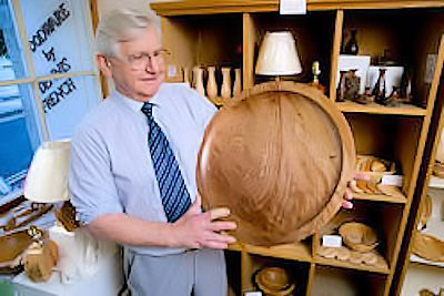 dennis french woodturner stroud gloucestershire